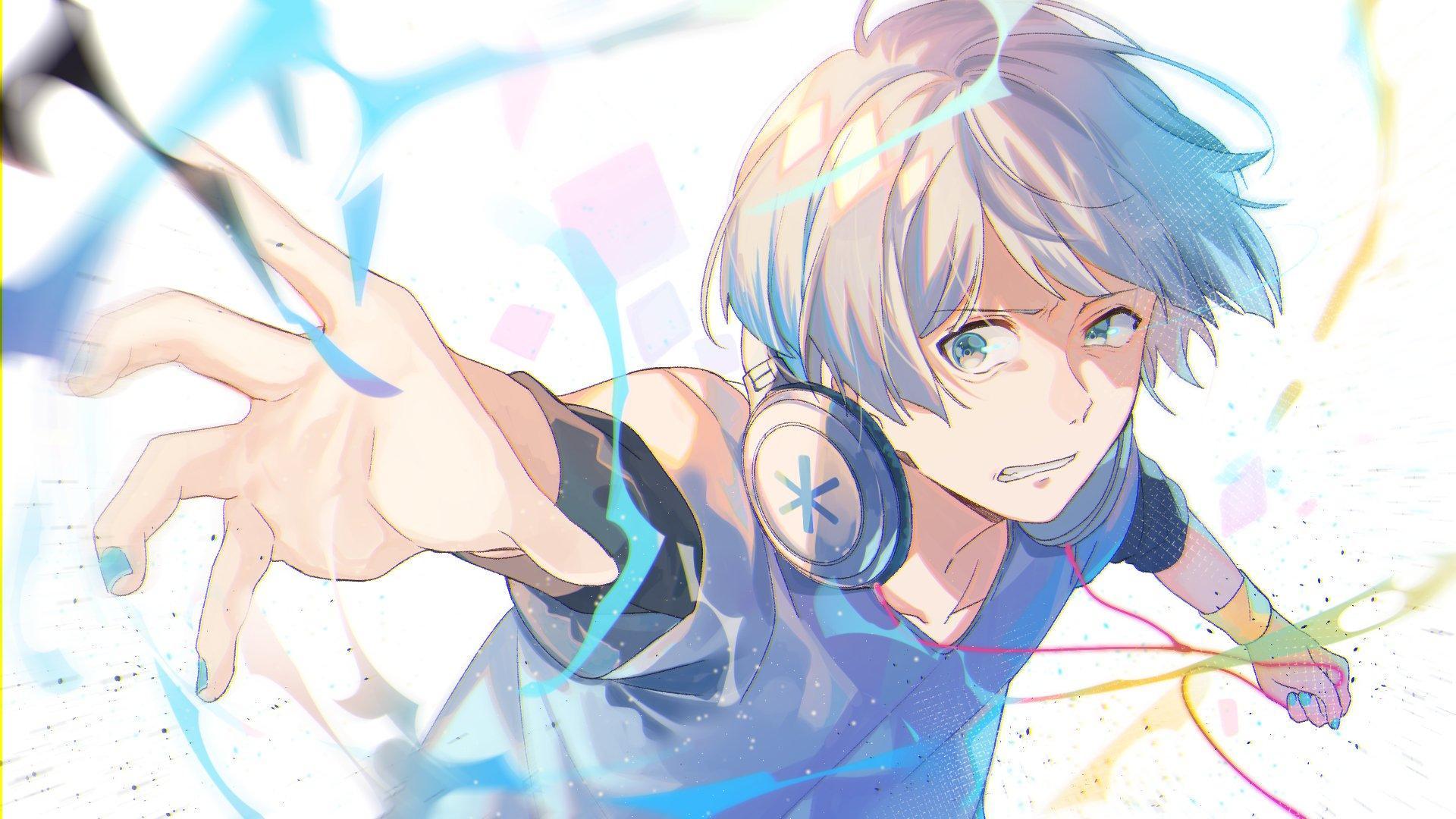 Anime Boys Headphones Wallpapers - Wallpaper Cave