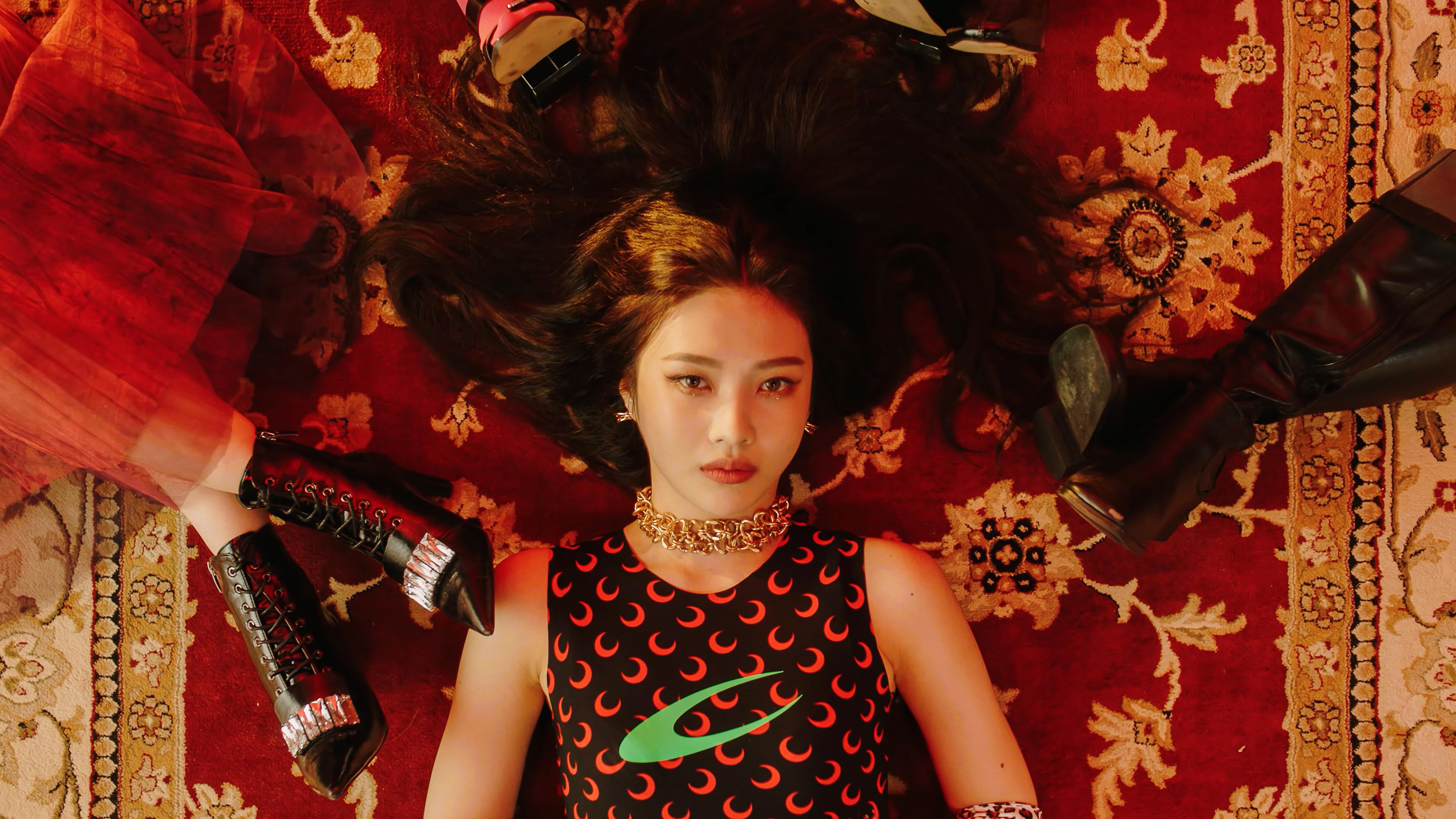 Aesthetic Red Velvet Desktop Wallpaper Hd
