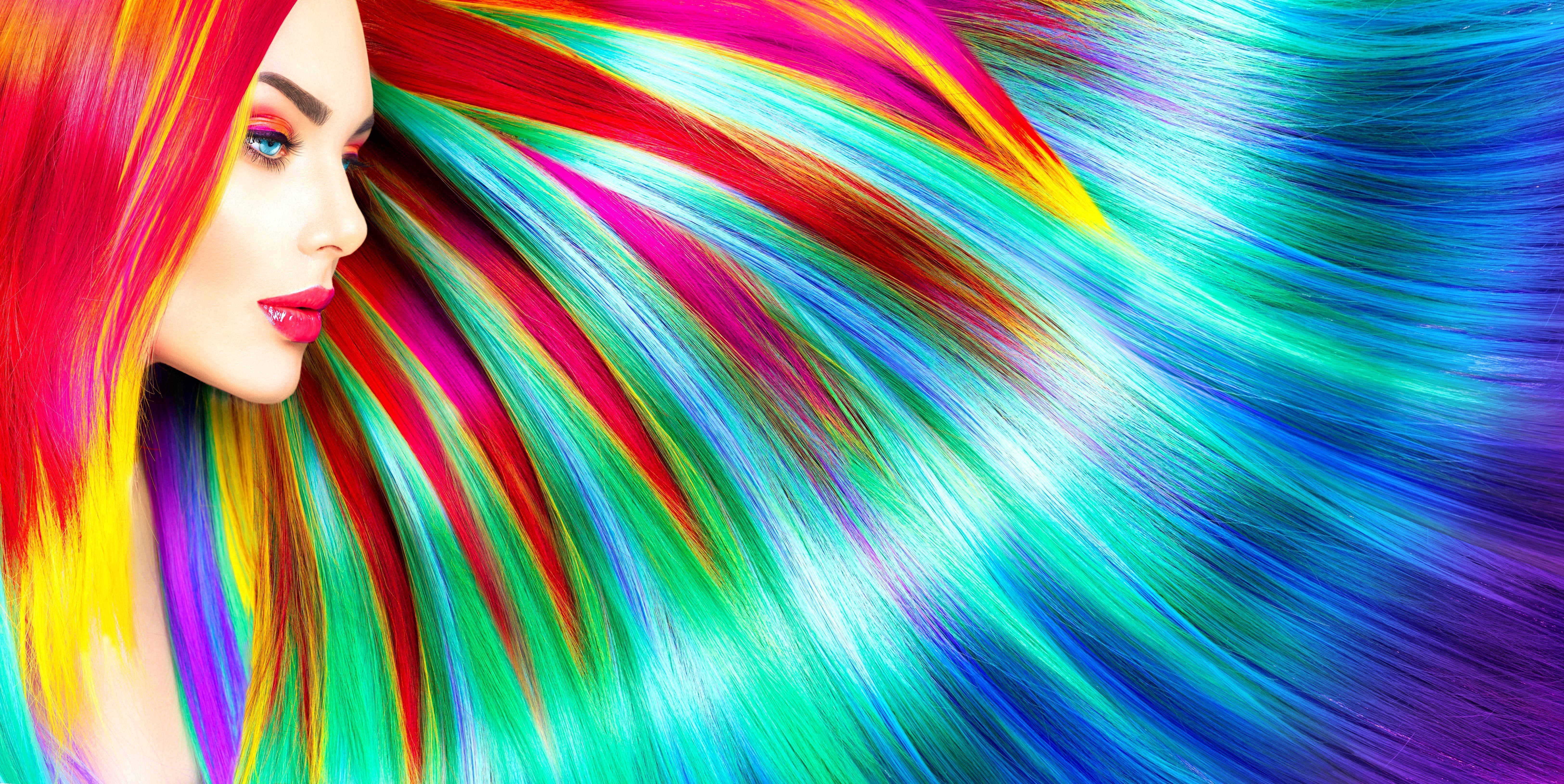 Rainbow Hair Wallpapers Wallpaper Cave