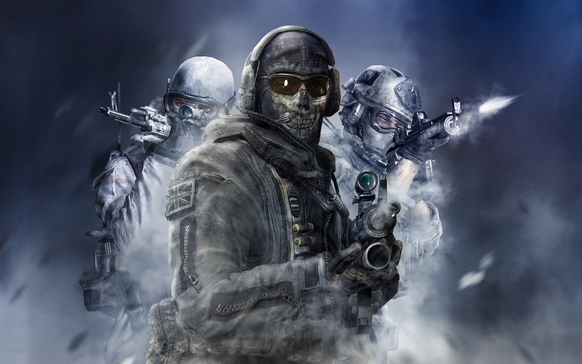 mw2 call of duty wallpaper ghost