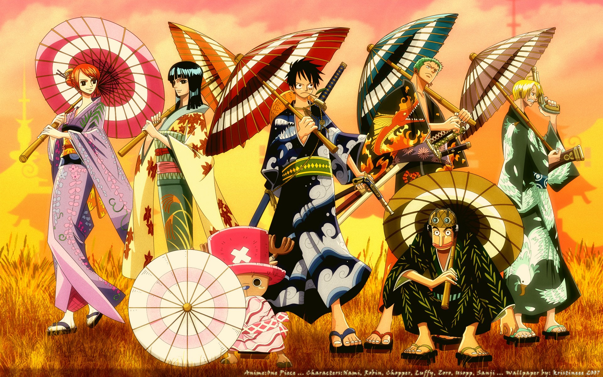 One Piece 3D HD wallpapers