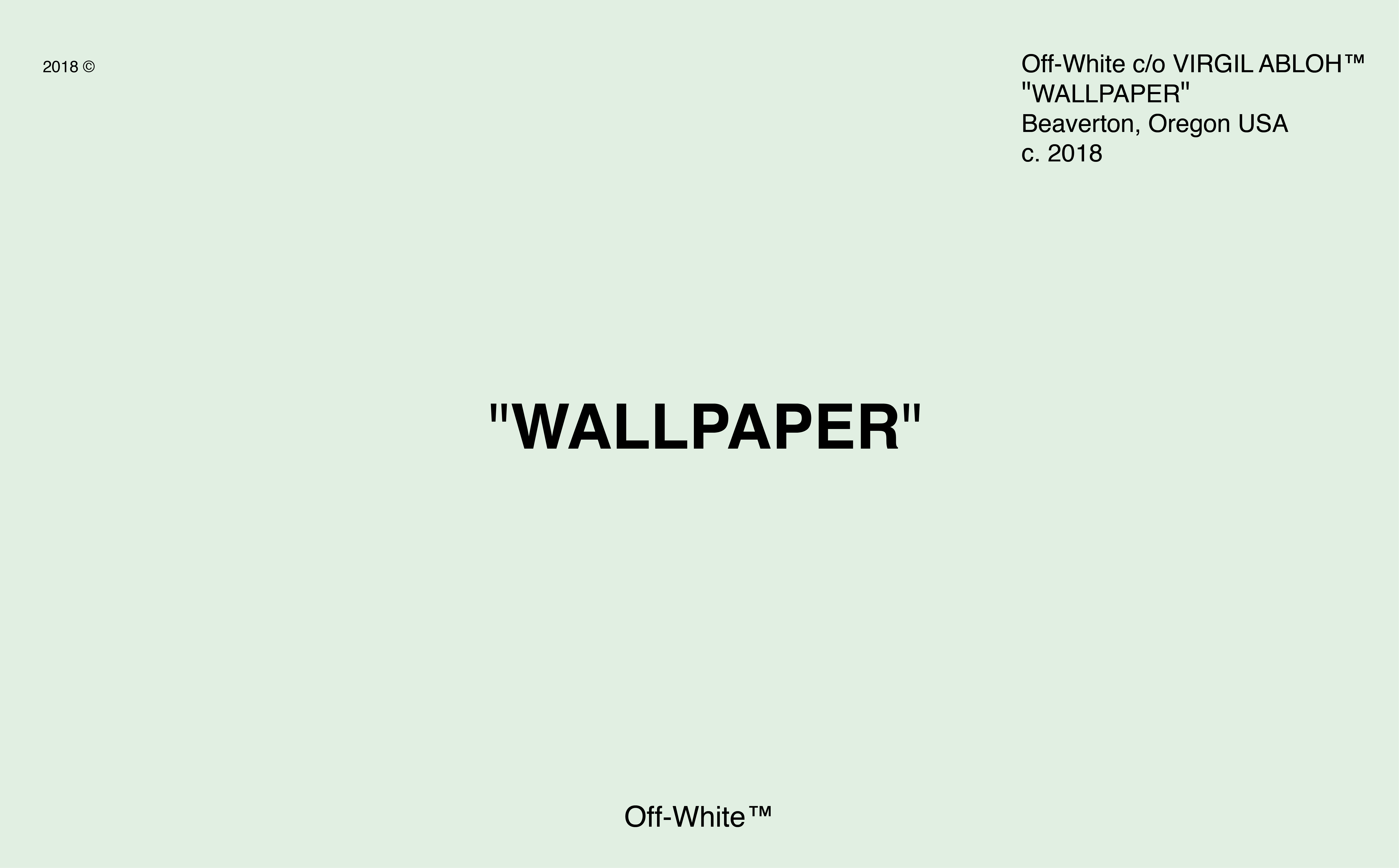 Off White 4k Computer Wallpapers - Wallpaper Cave