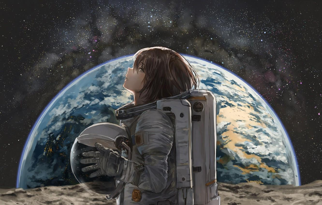 Space Anime Wallpapers Wallpaper Cave