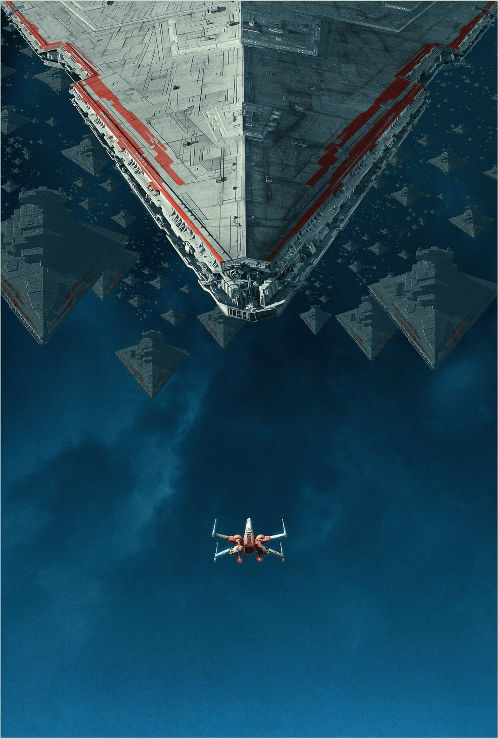 Rise Of Skywalker Star Destroyers Phone Wallpapers Wallpaper Cave