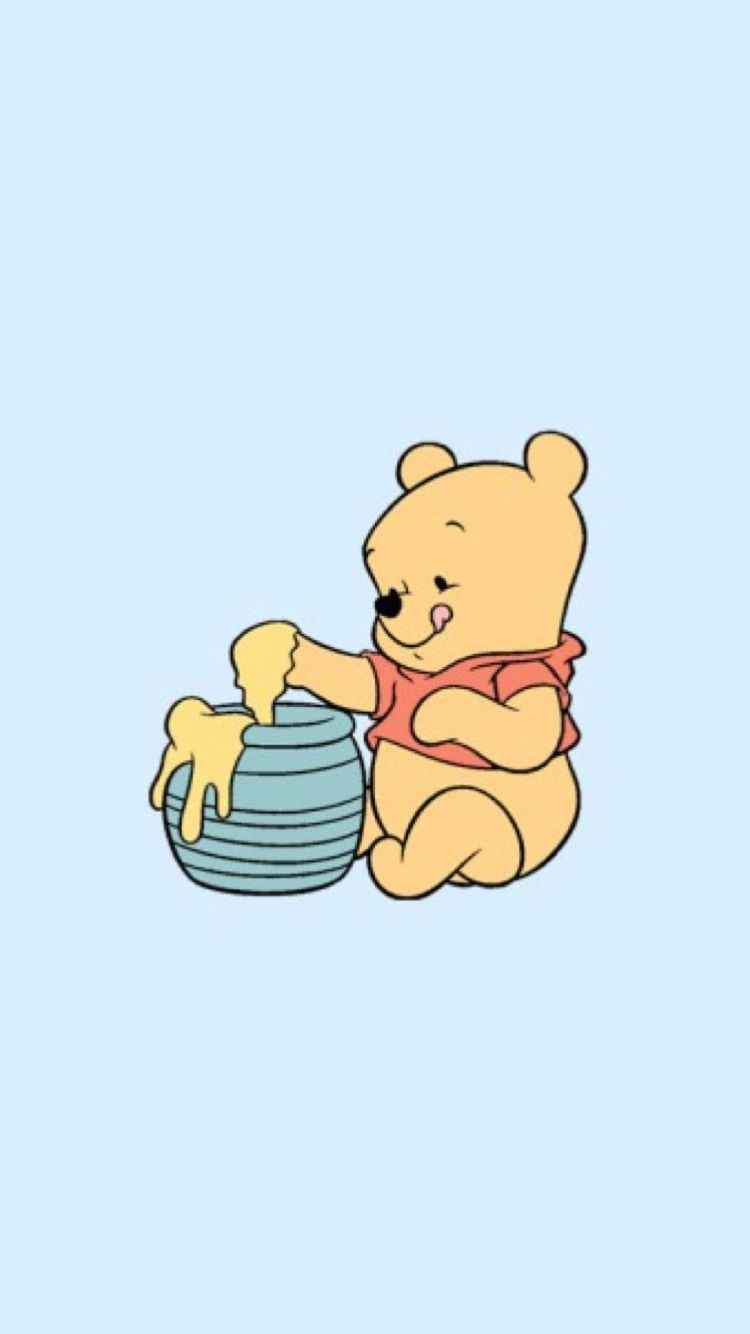 Aesthetic Winnie The Pooh Wallpapers Wallpaper Cave