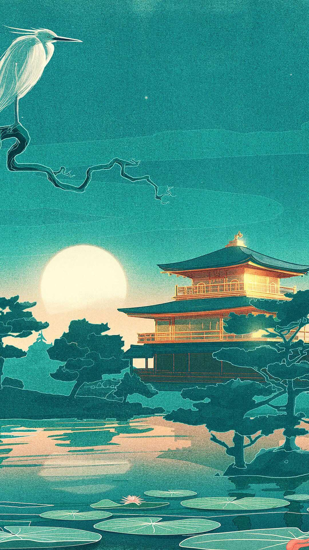 Retro Japanese Wallpapers Wallpaper Cave