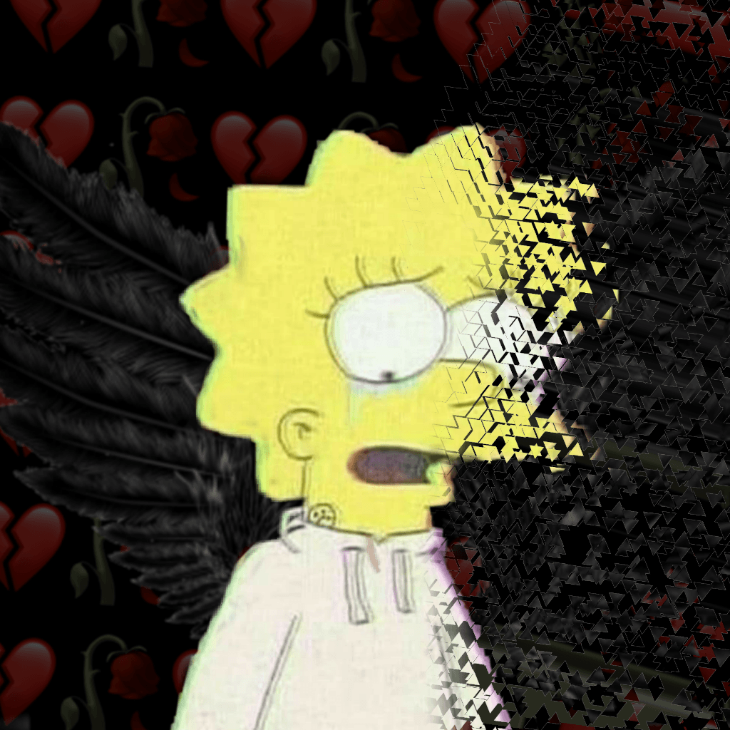 Depressed Lisa Simpson Wallpapers Wallpaper Cave