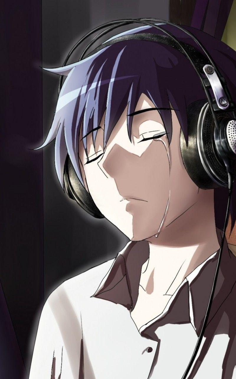 Anime Alone Guy Crying Wallpapers - Wallpaper Cave