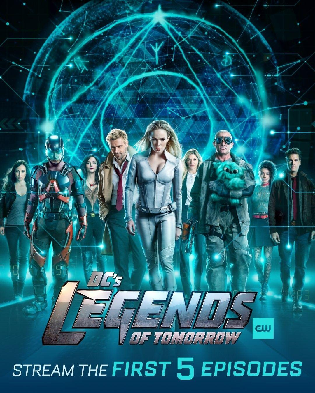 Legends Of Tomorrow Season 5 Posters Wallpapers Wallpaper Cave