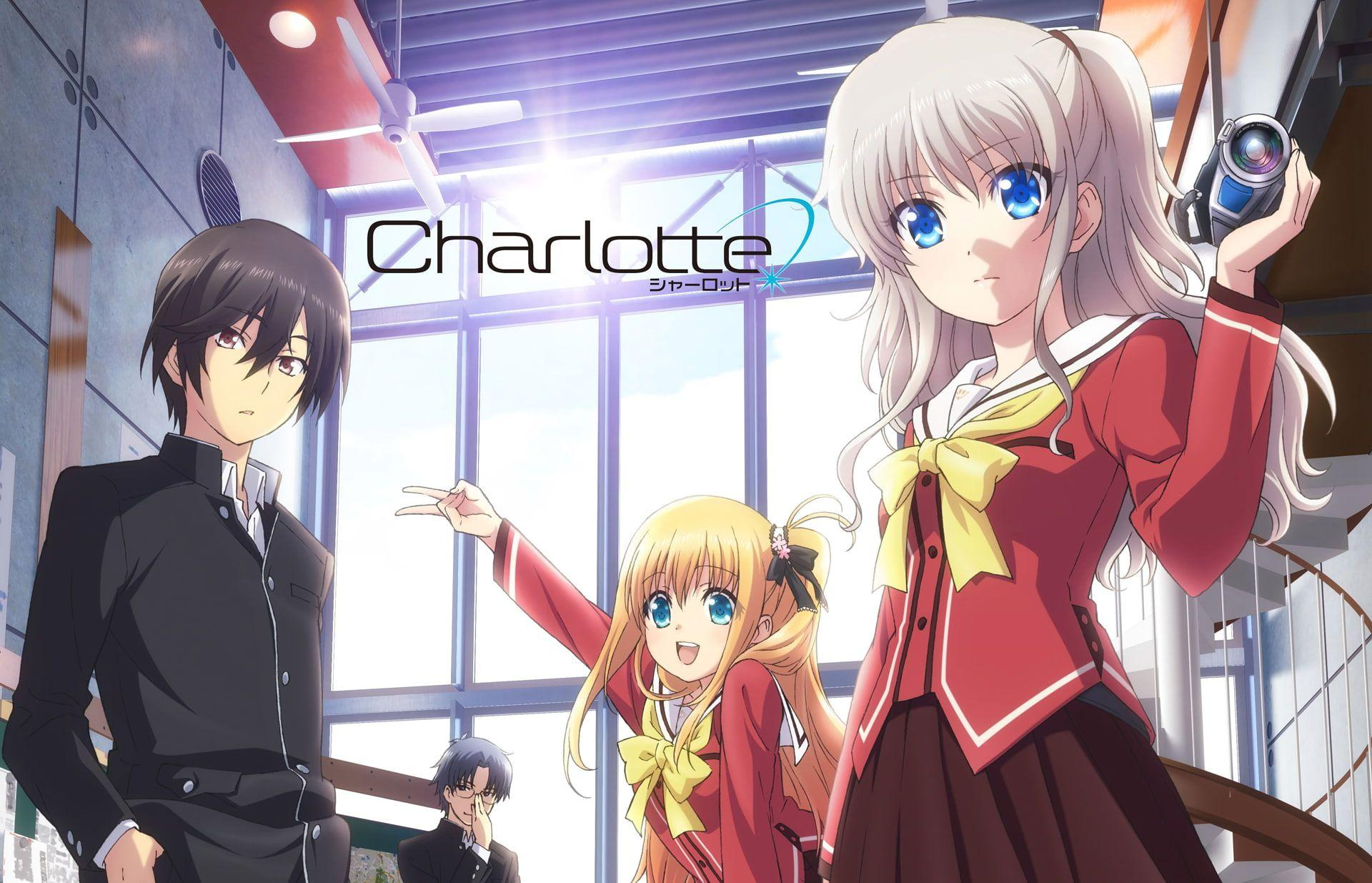 Charlotte Anime Wallpapers - Wallpaper Cave