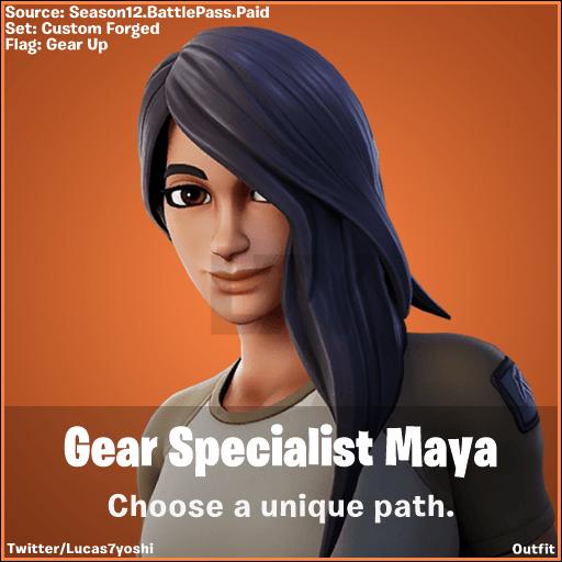 Fortnite Gear Specialist Maya Gear Specialist Maya Fortnite Wallpapers Wallpaper Cave