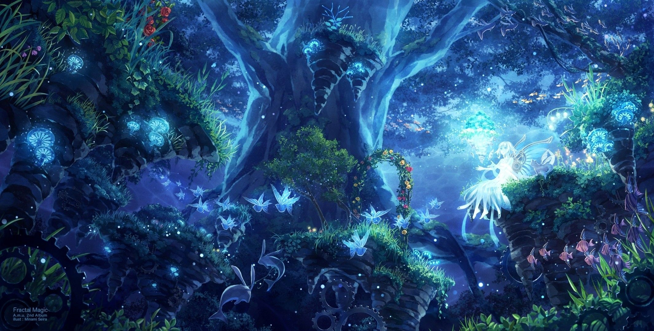 Fantasy Anime Wallpapers Wallpaper Cave