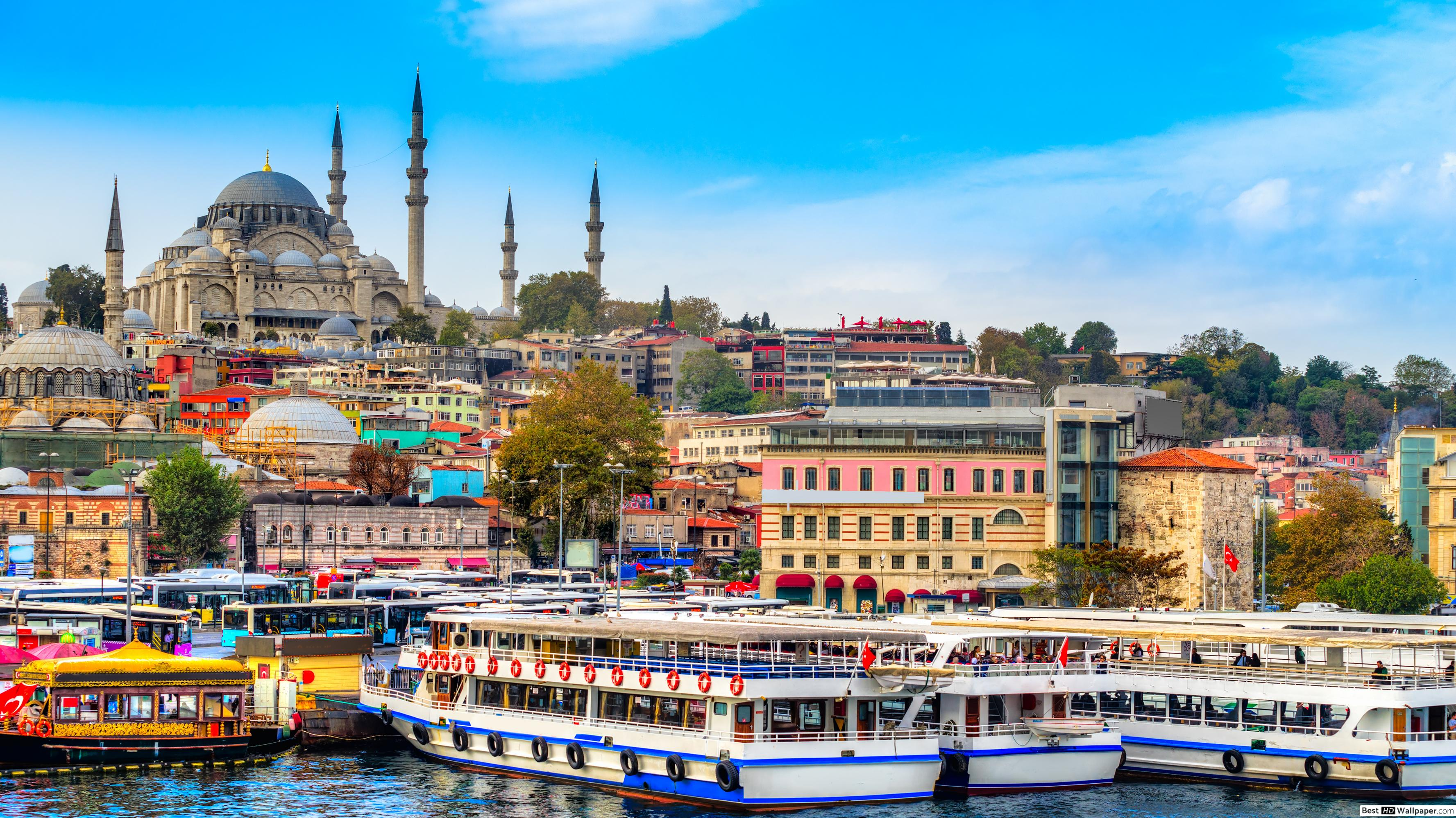 İstanbul mosque HD wallpapers download
