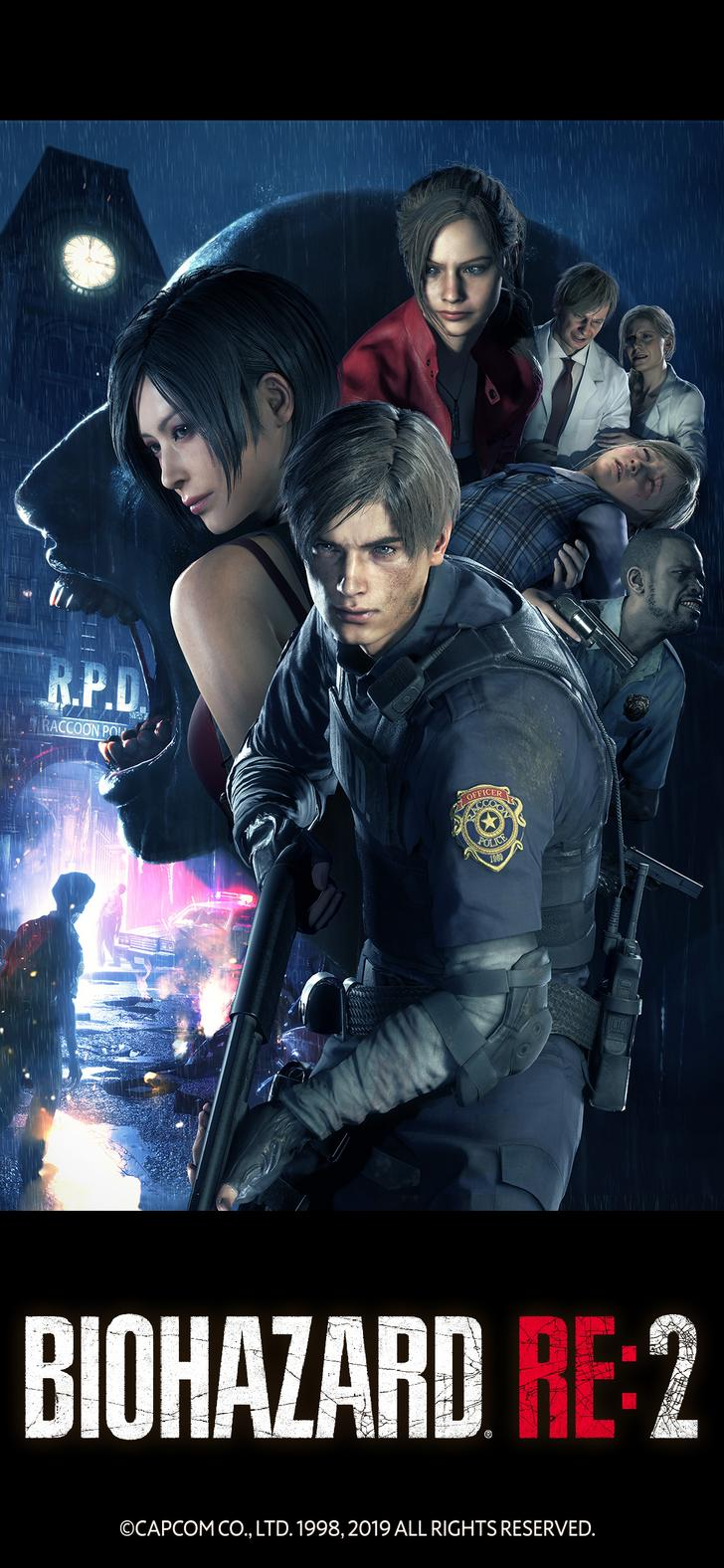 Resident Evil 2 Remake Hd Android Wallpapers Wallpaper Cave
