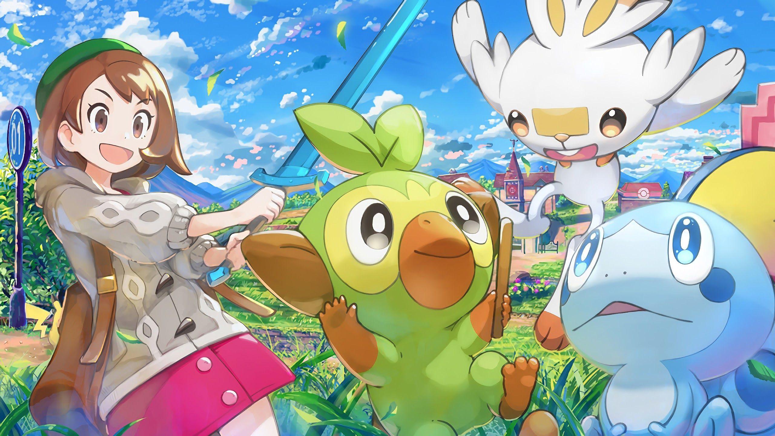 Pokémon Sword And Shield Desktop HD Wallpapers - Wallpaper ...