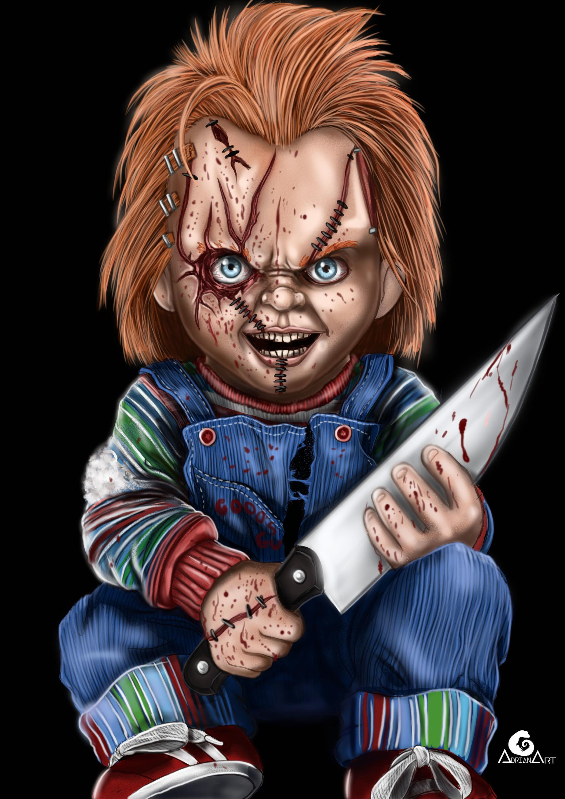 Chucky Cartoon Wallpapers Wallpaper Cave