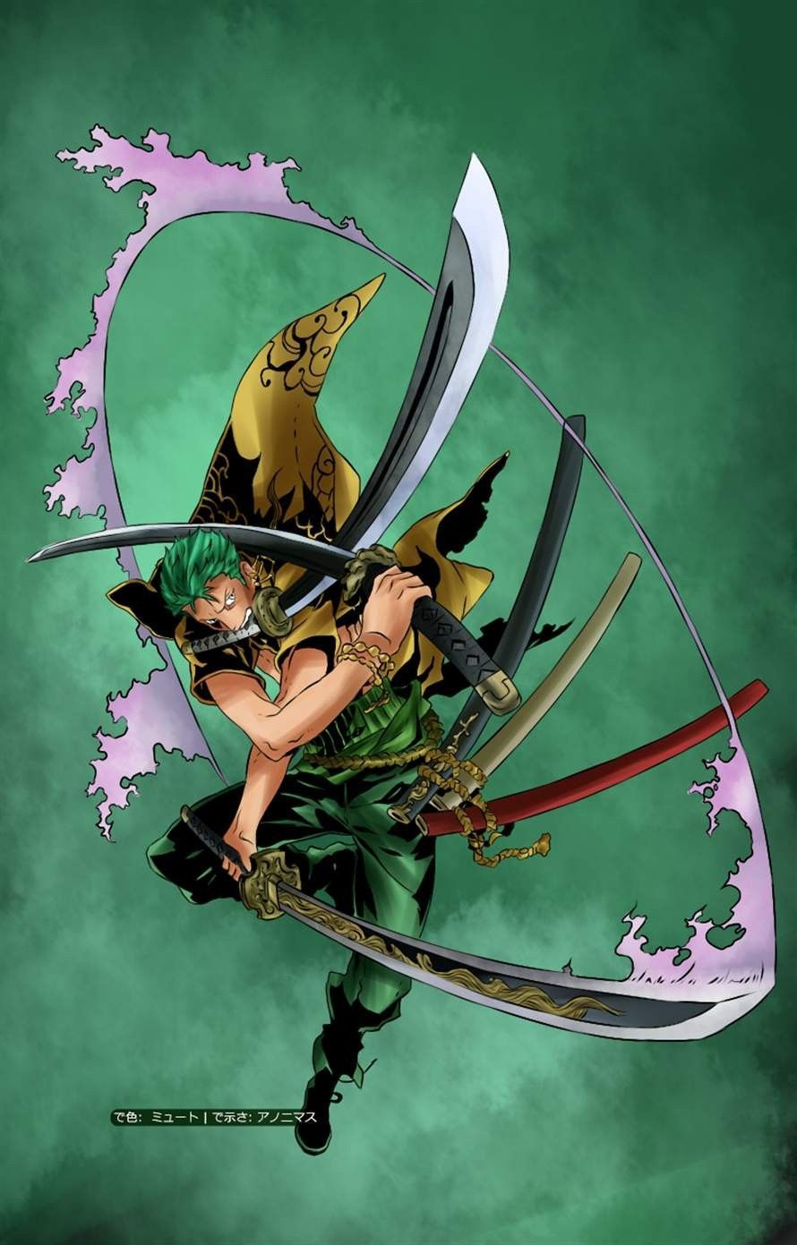 Phone Zoro One Piece Wallpapers Wallpaper Cave