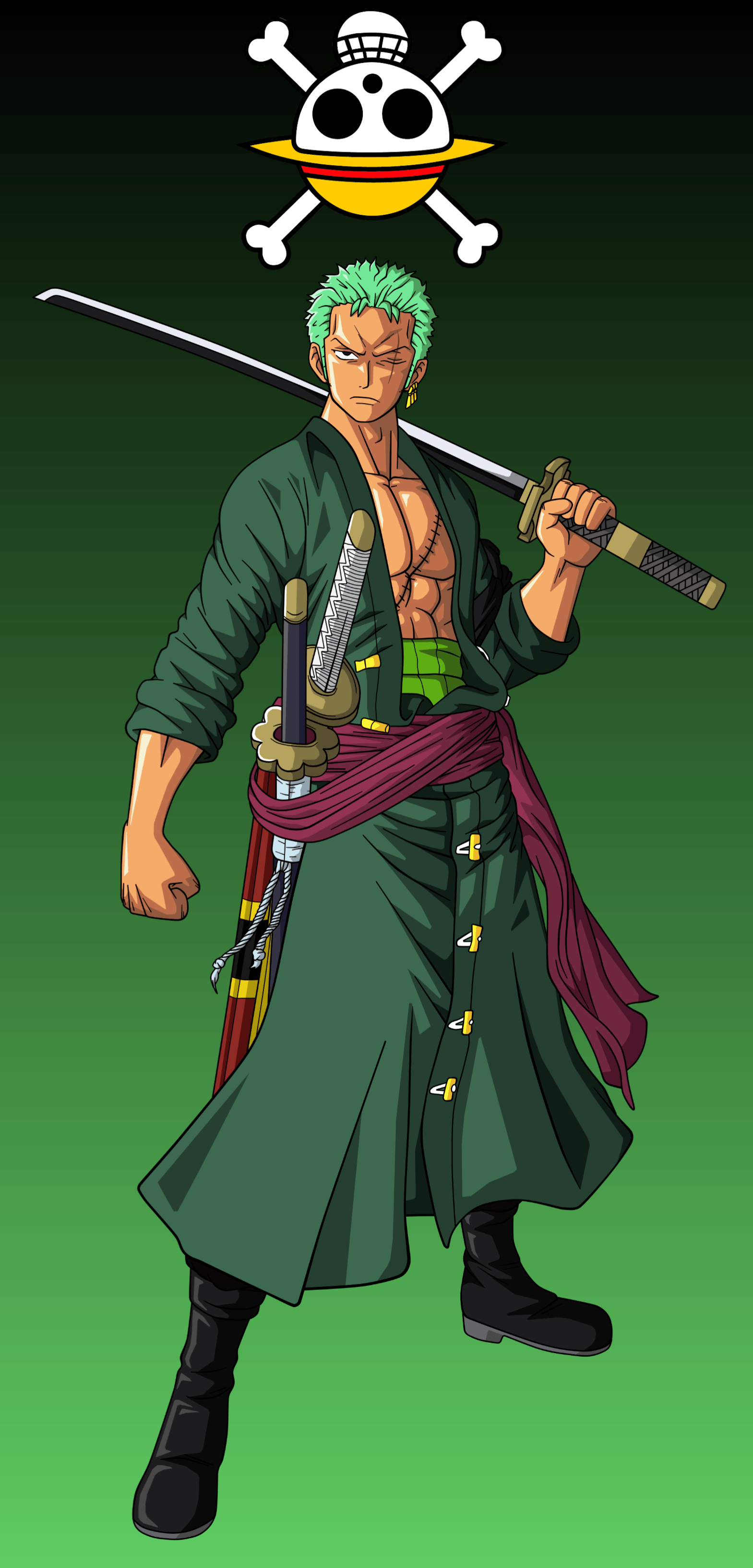 Zoro One Piece Phone Wallpapers - Wallpaper Cave