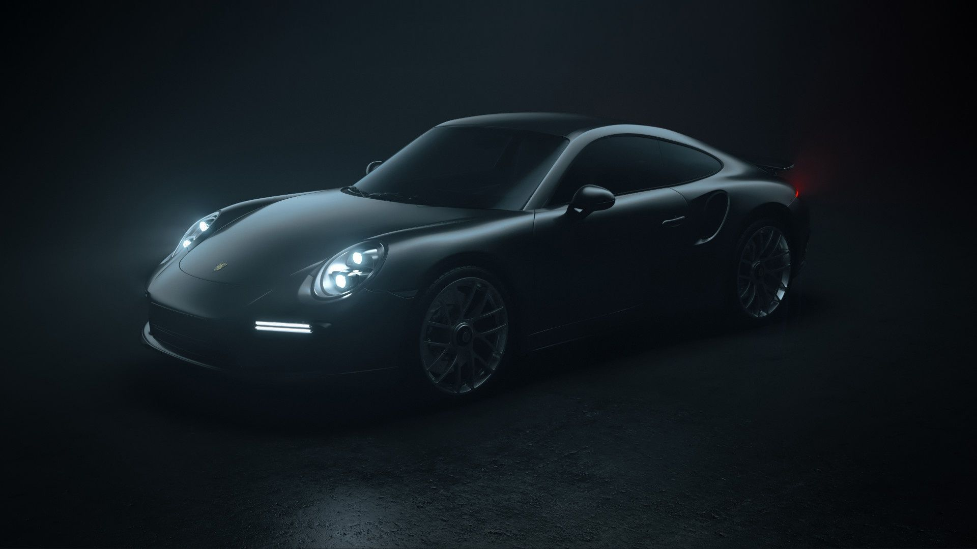 Porsche Black Wallpapers Wallpaper Cave