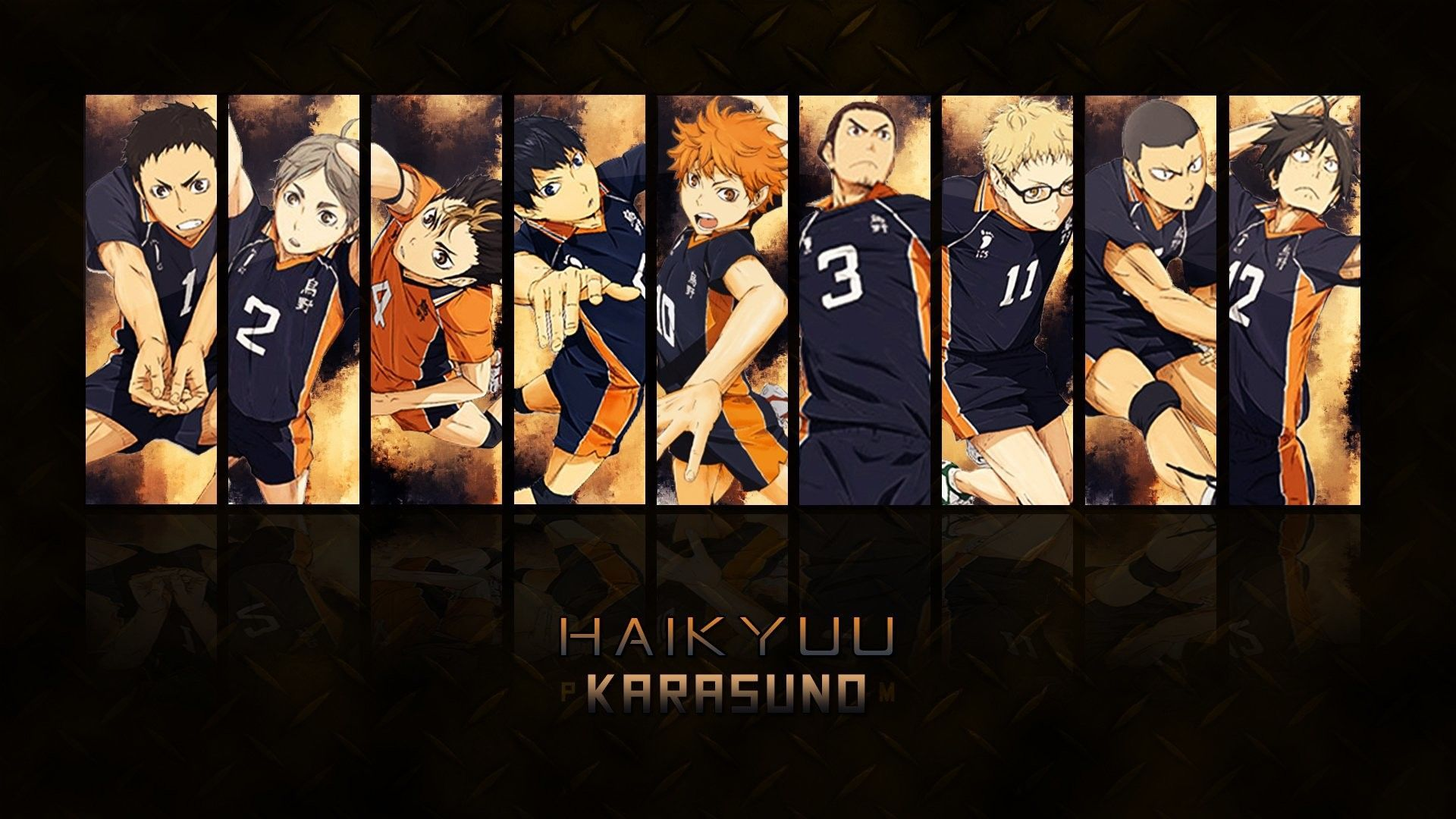 Haikyuu Aesthetic Desktop Wallpapers Wallpaper Cave