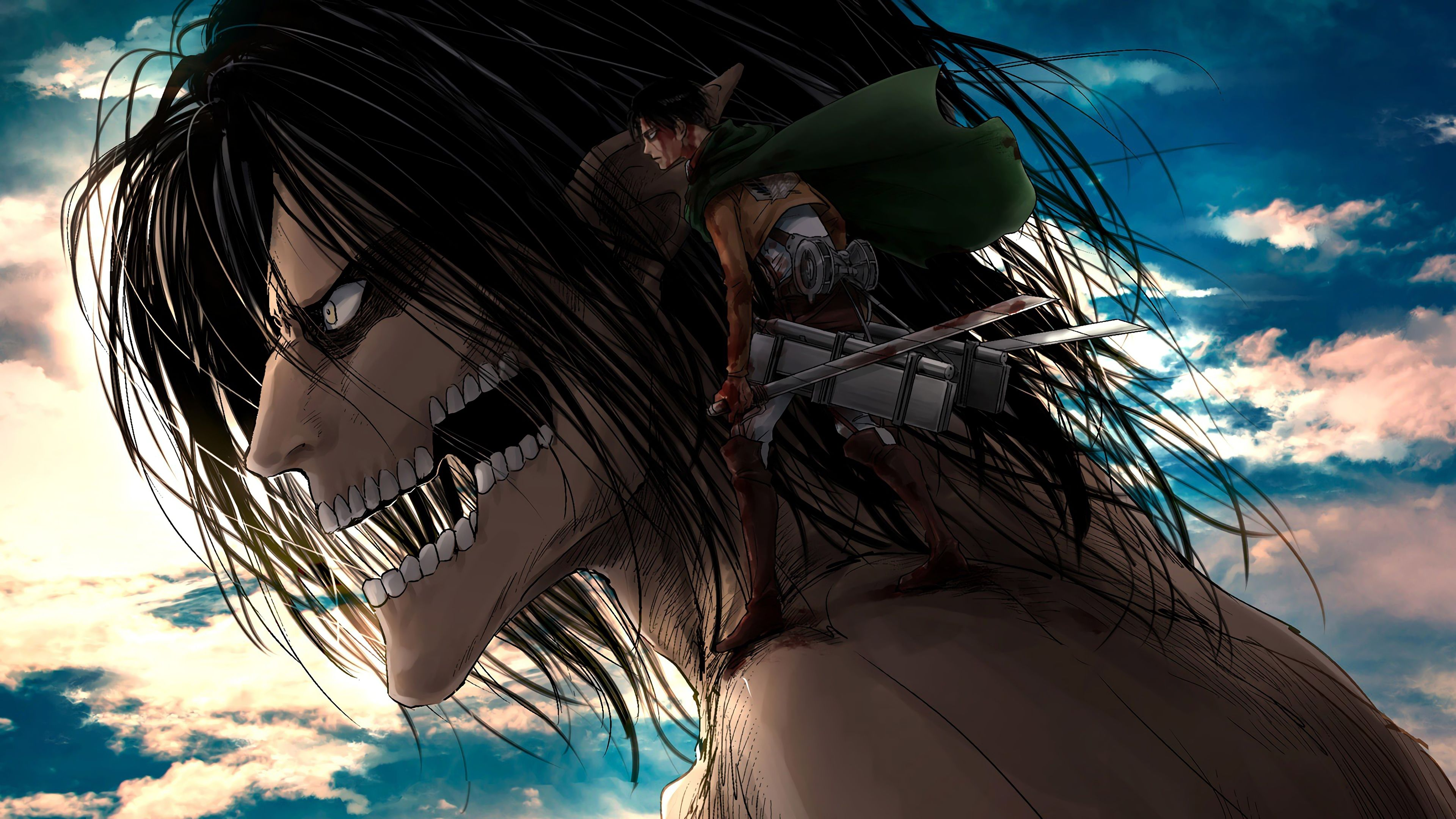 Attack On Titan Anime 4k Pc Wallpapers Wallpaper Cave
