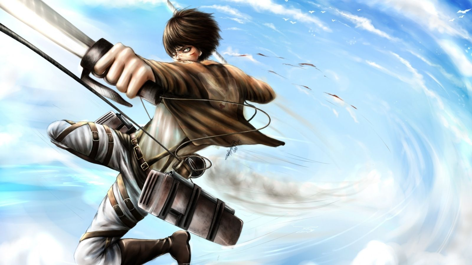 Attack On Titan Anime 4k PC Wallpapers - Wallpaper Cave