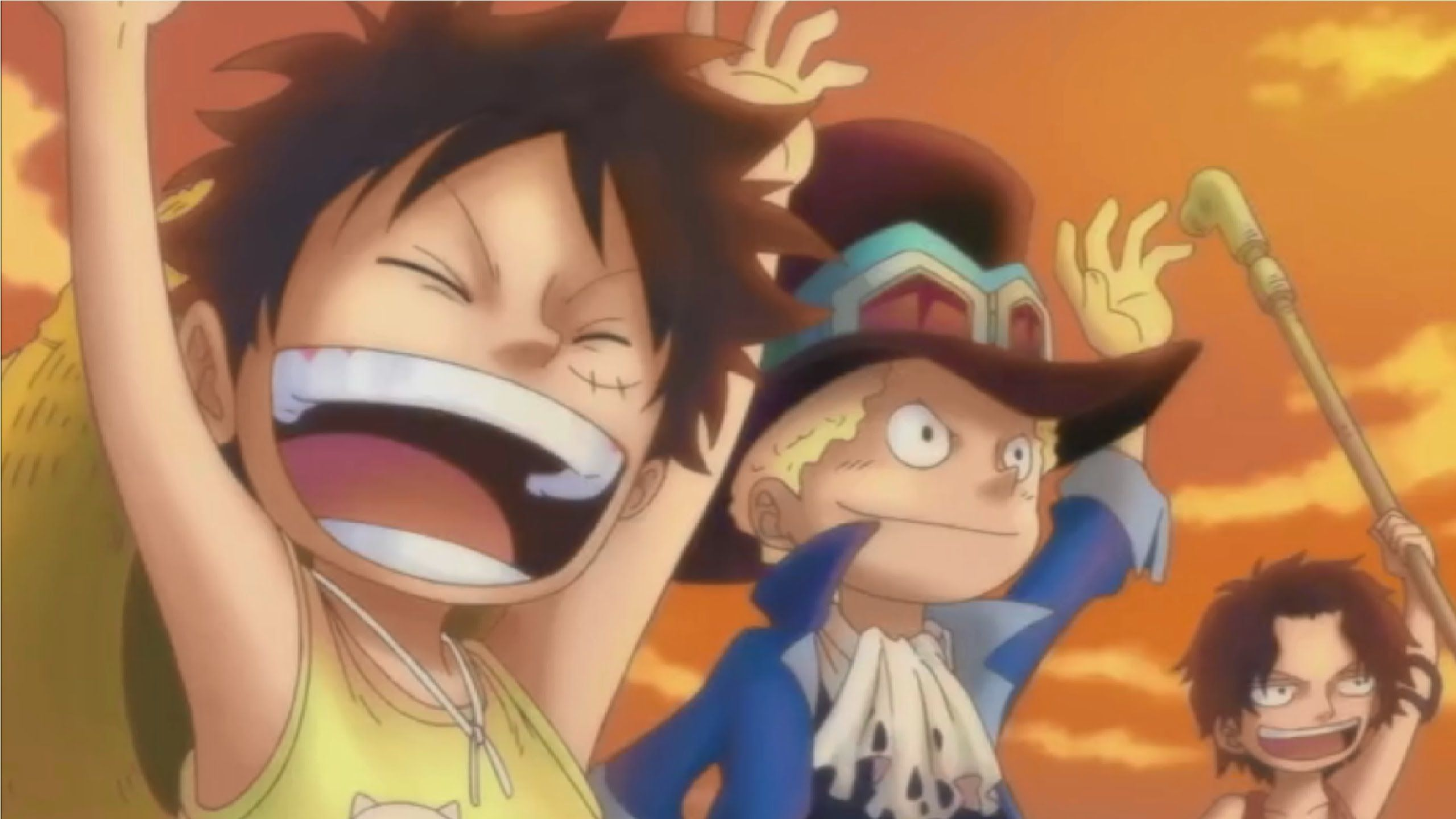 Luffy, Ace And Sabo One Piece Team Wallpapers - Wallpaper Cave