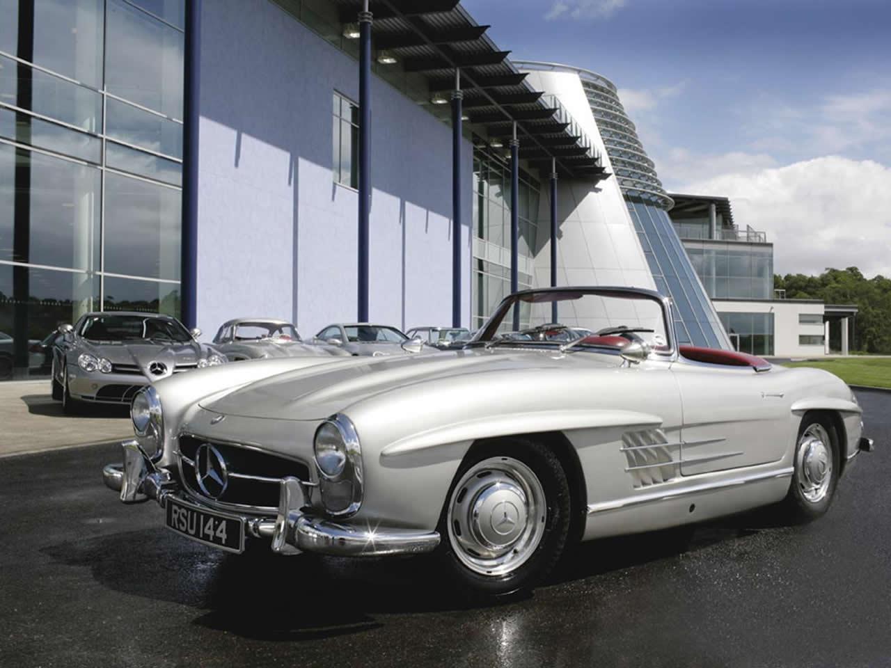 Old Mercedes Benz Convertible Car Wallpapers Wallpaper Cave