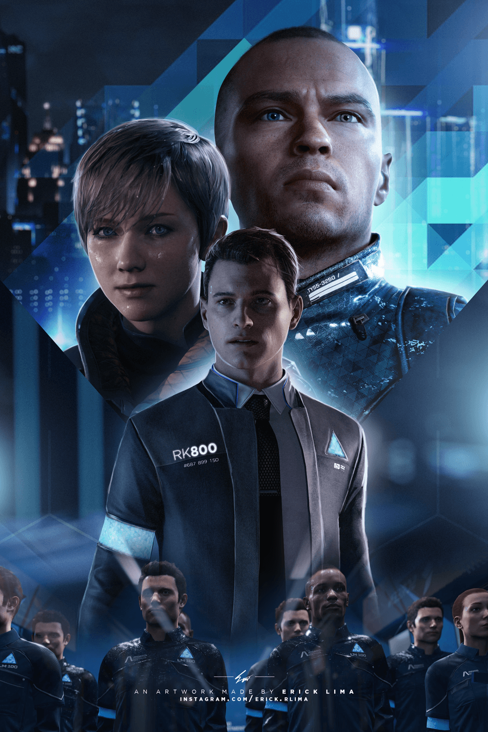 Detroit Become Human Mobile Wallpapers Wallpaper Cave