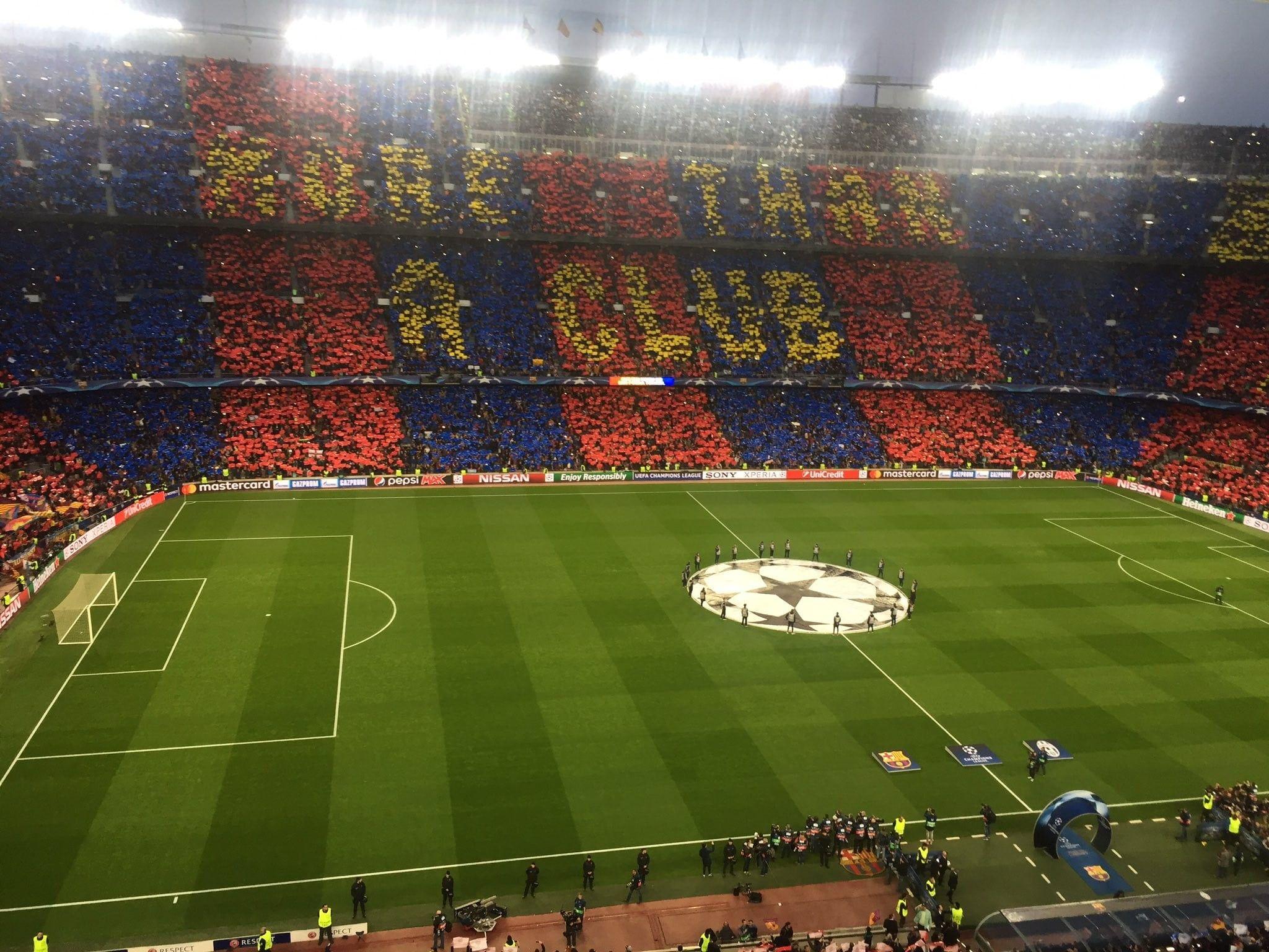 Fc Barcelona Camp Nou Soccer Clubs Soccer Wallpapers Hd: Barcelona Stadium Wallpapers