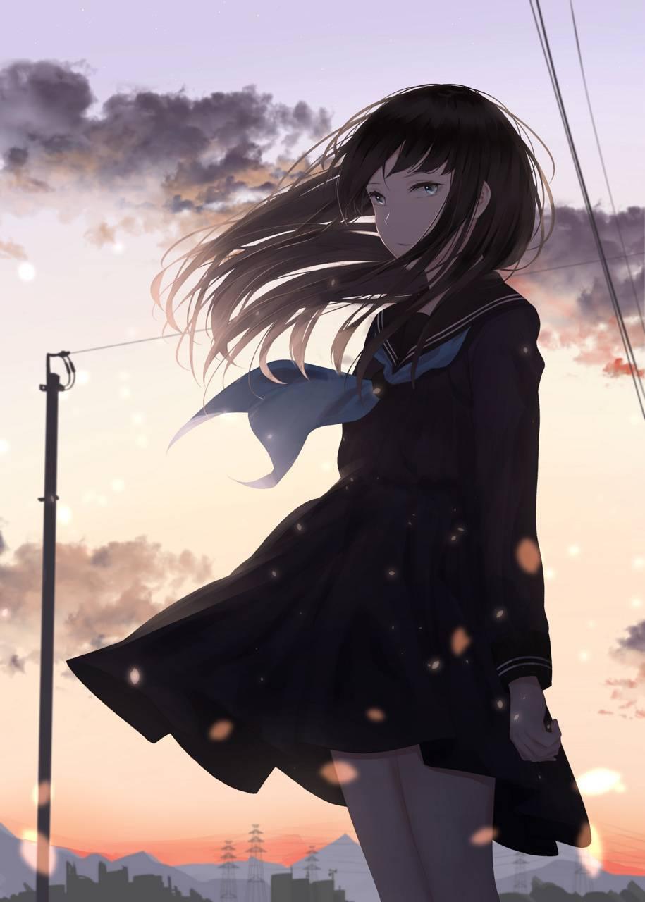 Anime Depressed Girls Wallpapers - Wallpaper Cave