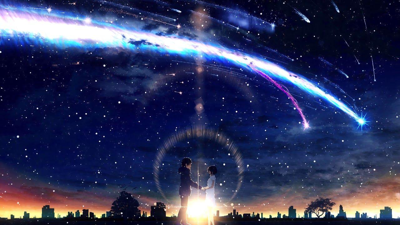 Anime Wallpaper Hd Kimi No Nawa Live Wallpaper Phone