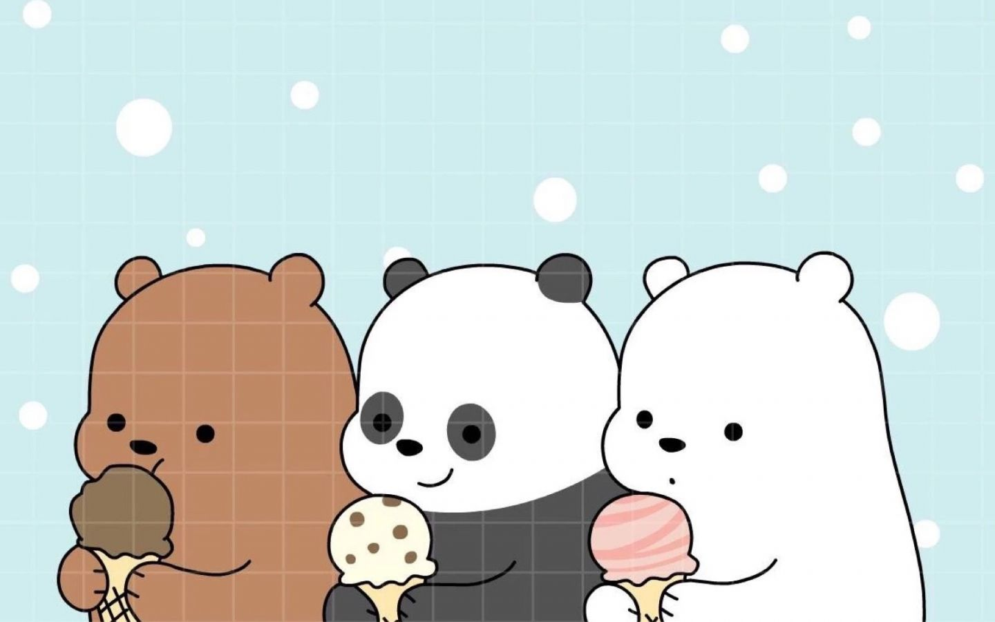 We Bare Bear Computer Wallpapers - Wallpaper Cave