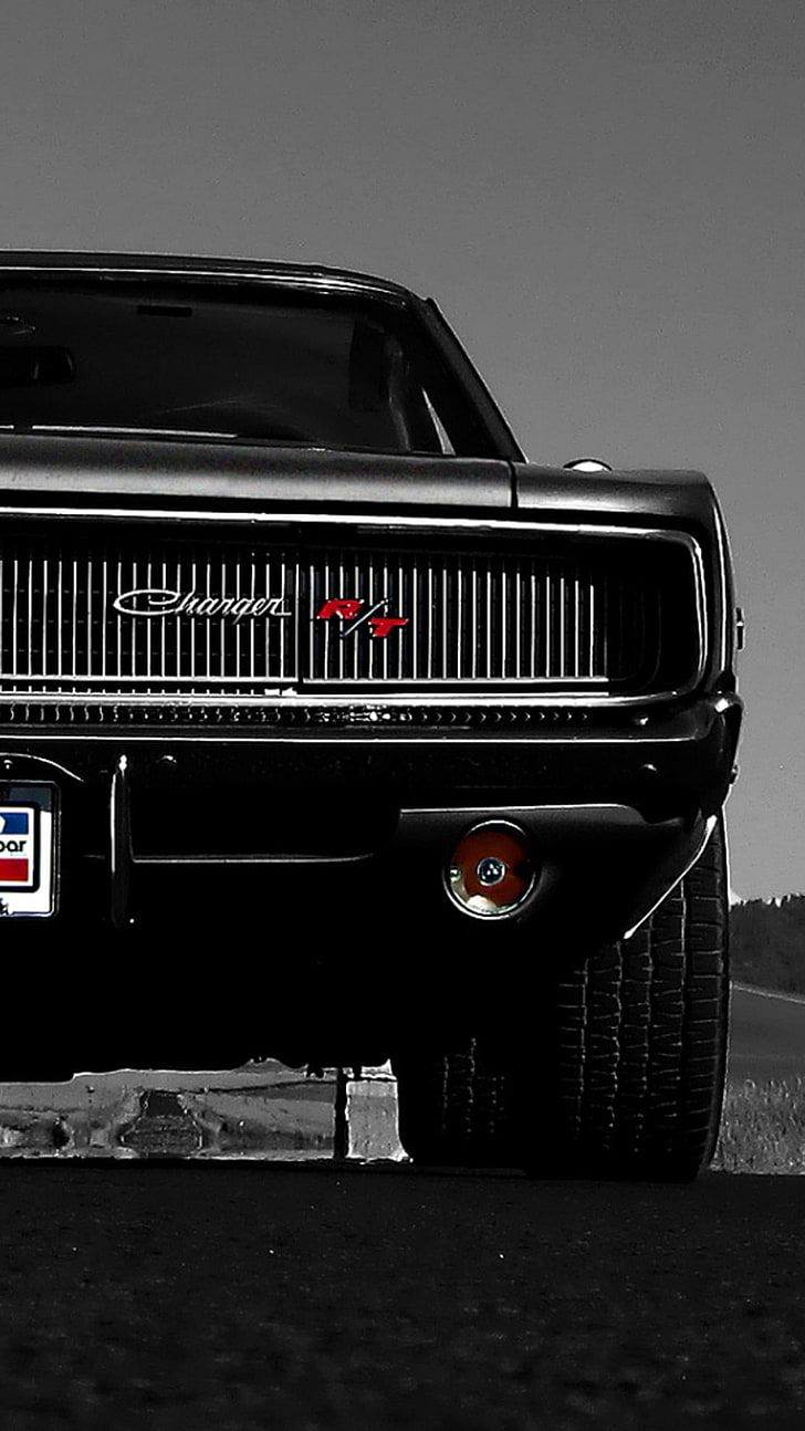 Vintage Dodge Car Dark Phone Wallpapers Wallpaper Cave