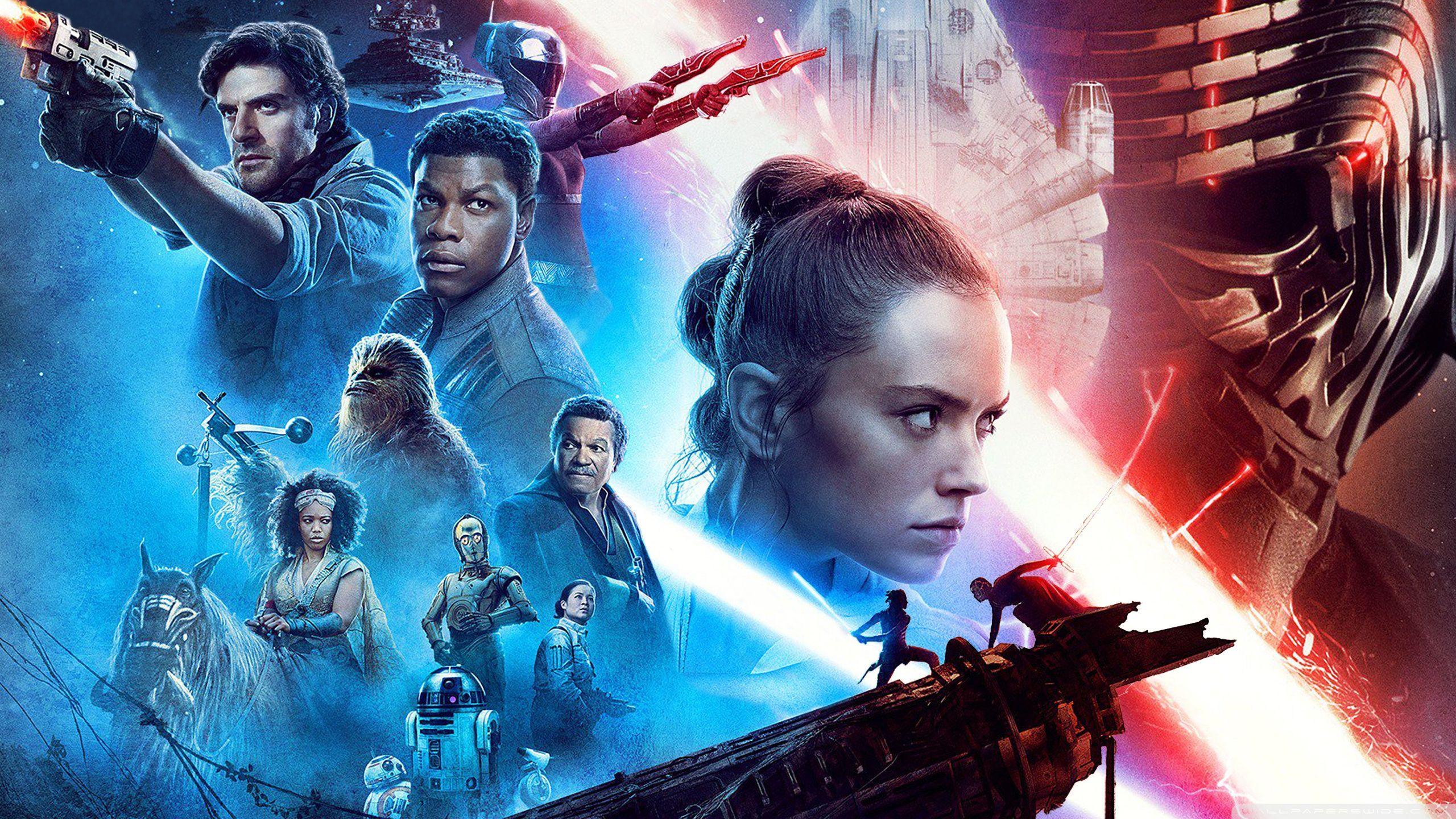 Star Wars The Rise Of Skywalker Desktop Wallpapers ...