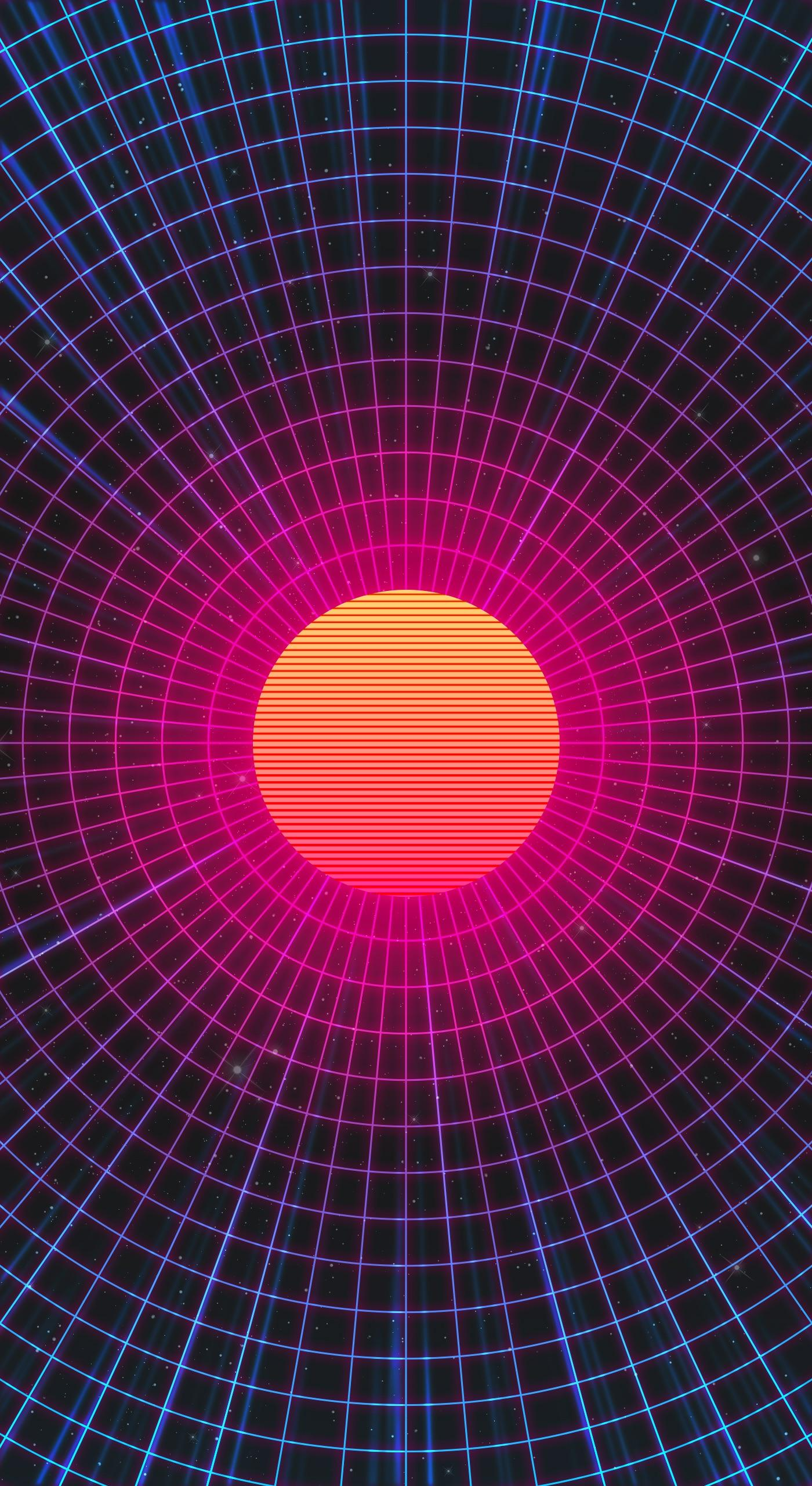 Synthwave Iphone 11 Wallpapers Wallpaper Cave