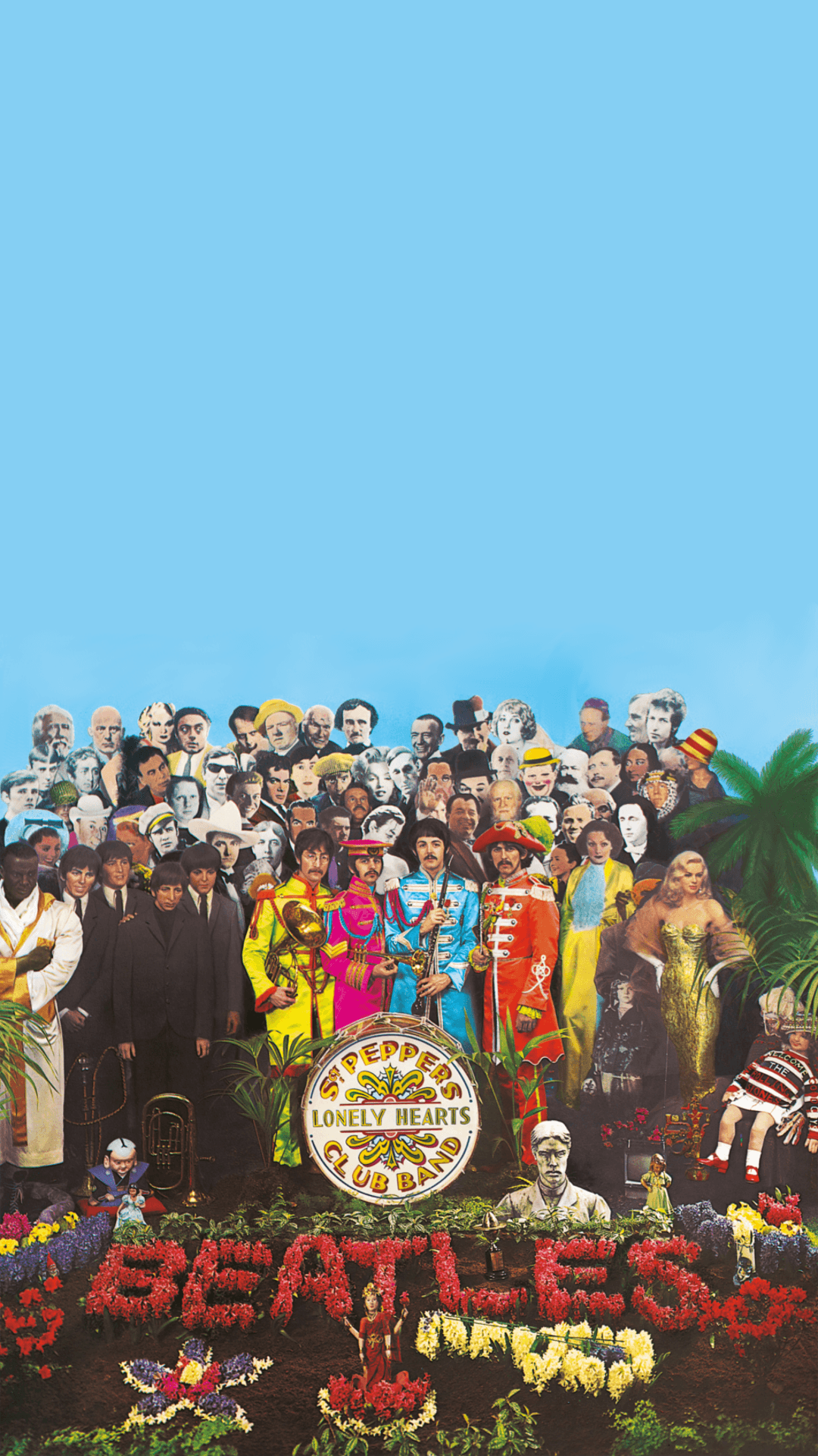 Обои The beatles, sgt. peppers lonely hearts club band, yellow submarine. Музыка foto 4