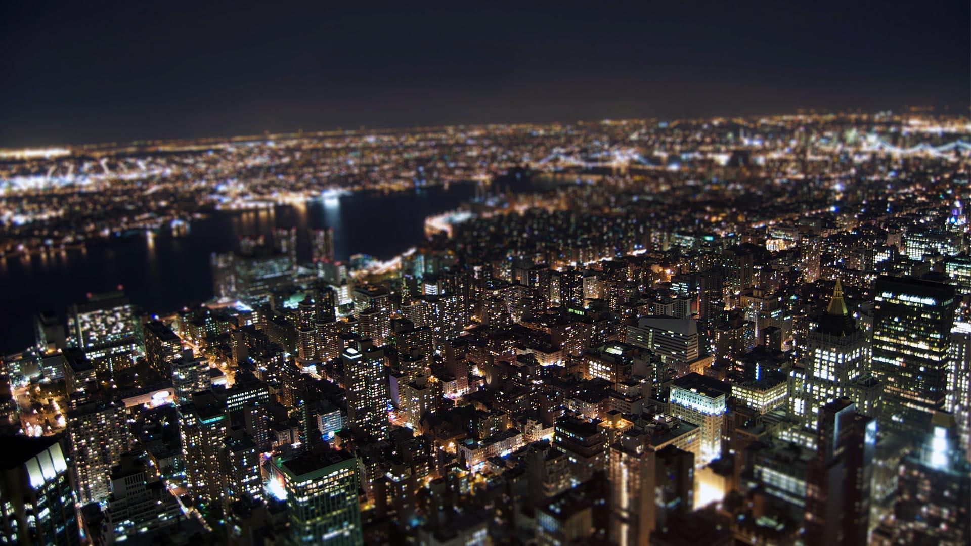 New York Night Computer Wallpapers Wallpaper Cave