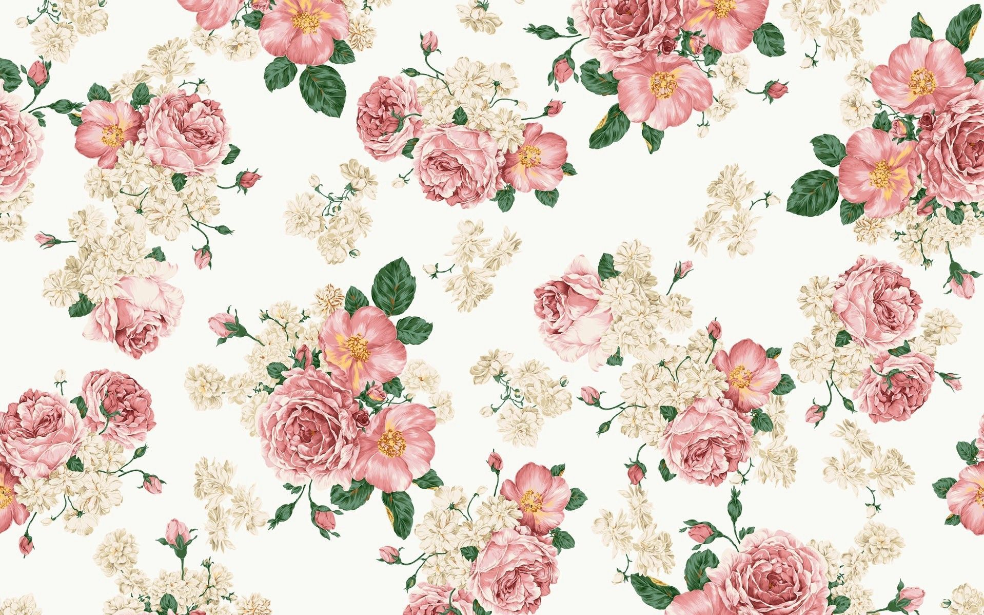 Vintage Floral Peach Wallpapers Wallpaper Cave