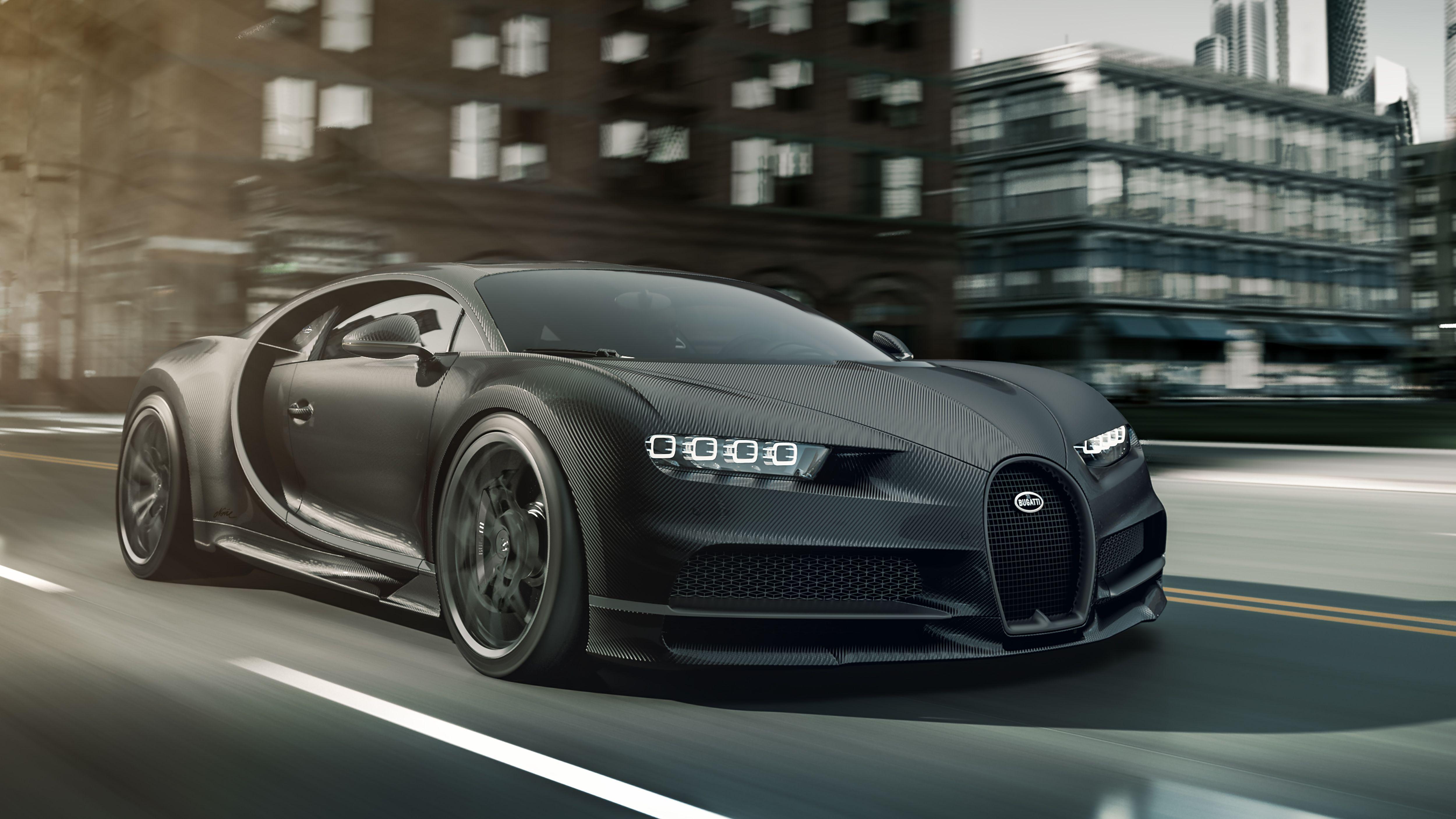 Bugatti Chiron Noire 2020 Wallpapers Wallpaper Cave
