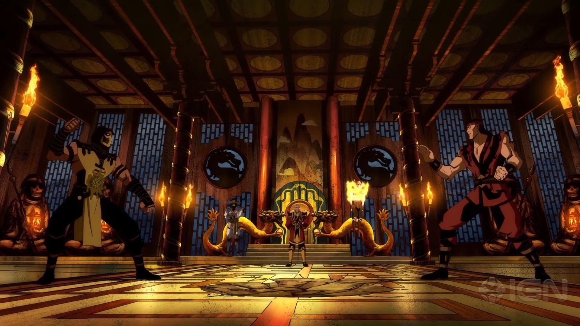 Mortal Kombat Legends Scorpions Revenge 2020 Wallpapers