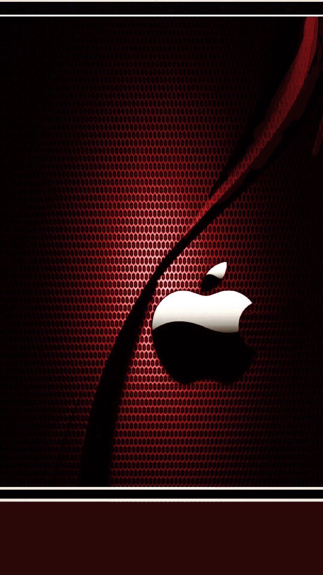 Red iPhone Logo Wallpapers - Wallpaper Cave