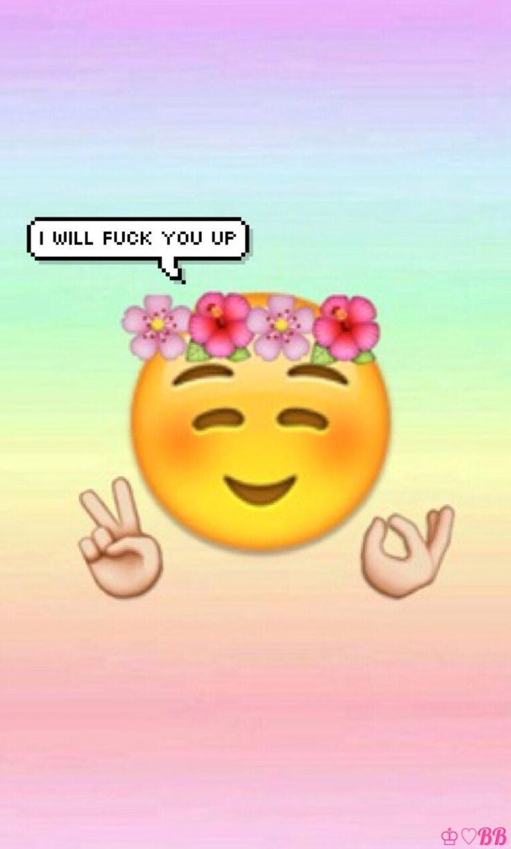 Cute Iphone Emojis Wallpapers Wallpaper Cave