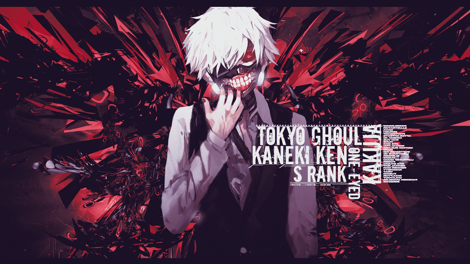 Hd Anime Tokyo Ghoul Wallpapers Wallpaper Cave