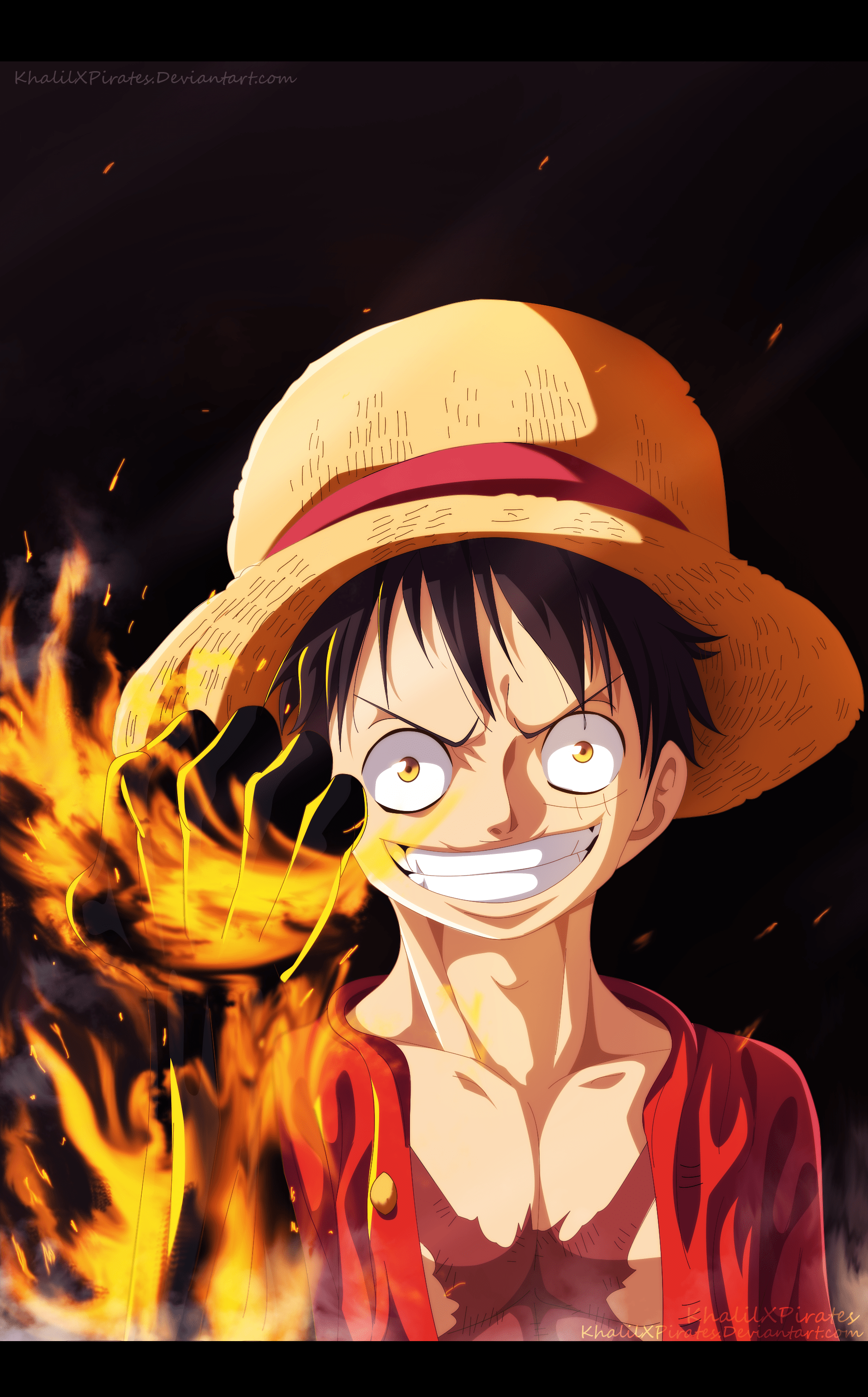 Luffy One Piece Android Wallpapers Wallpaper Cave