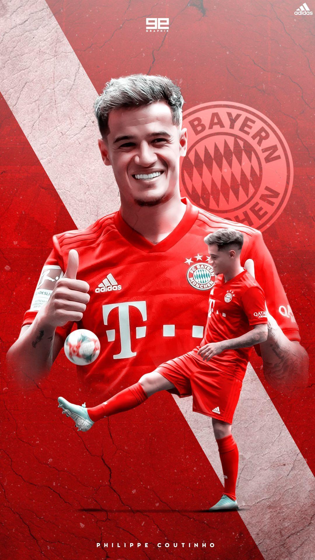 Coutinho Bayern Munich Wallpapers Wallpaper Cave