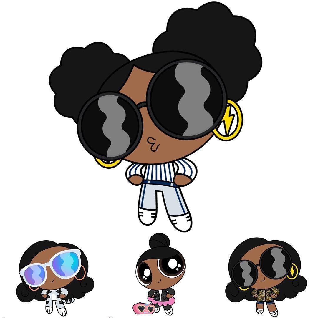 Black Powerpuff Girls Wallpapers Wallpaper Cave