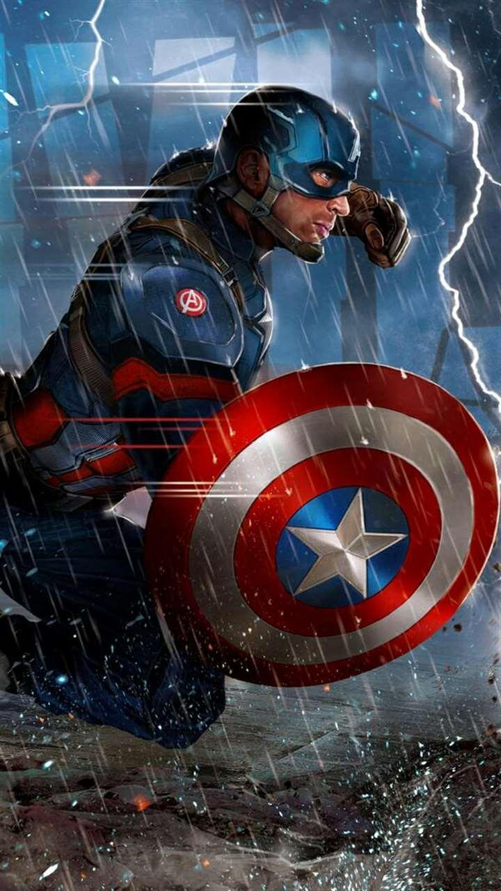 Captain America Lock Screen HD Wallpapers for Android