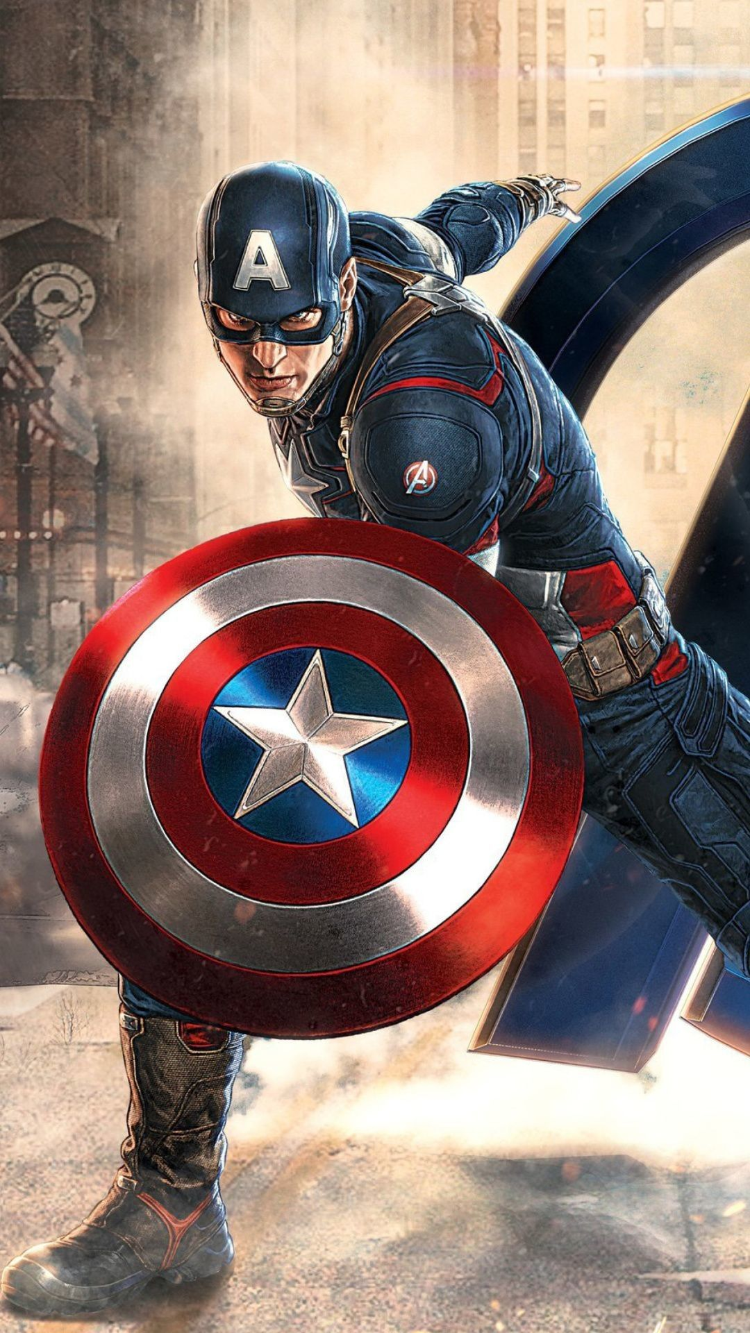 Captain America Android Phone Wallpapers Wallpaper Cave