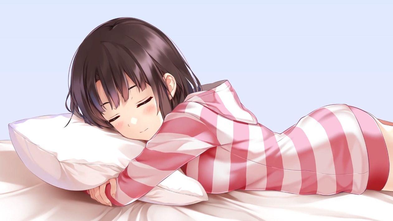 Sleeping Anime Girl HD Wallpapers - Wallpaper Cave
